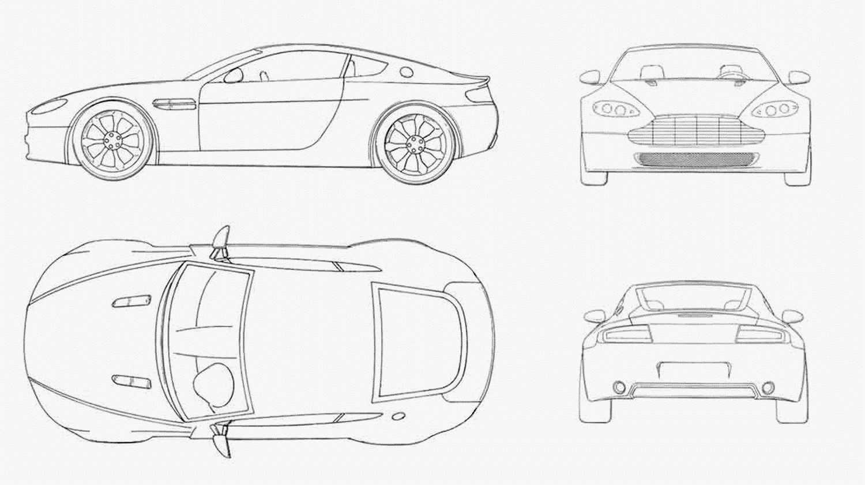 Fantastisch Blueprint Fahrzeug Zeitgenössisch - Elektrische ...